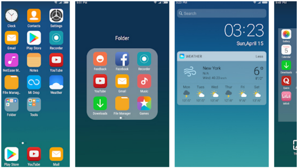 X Launcher New With OS12 Style Theme