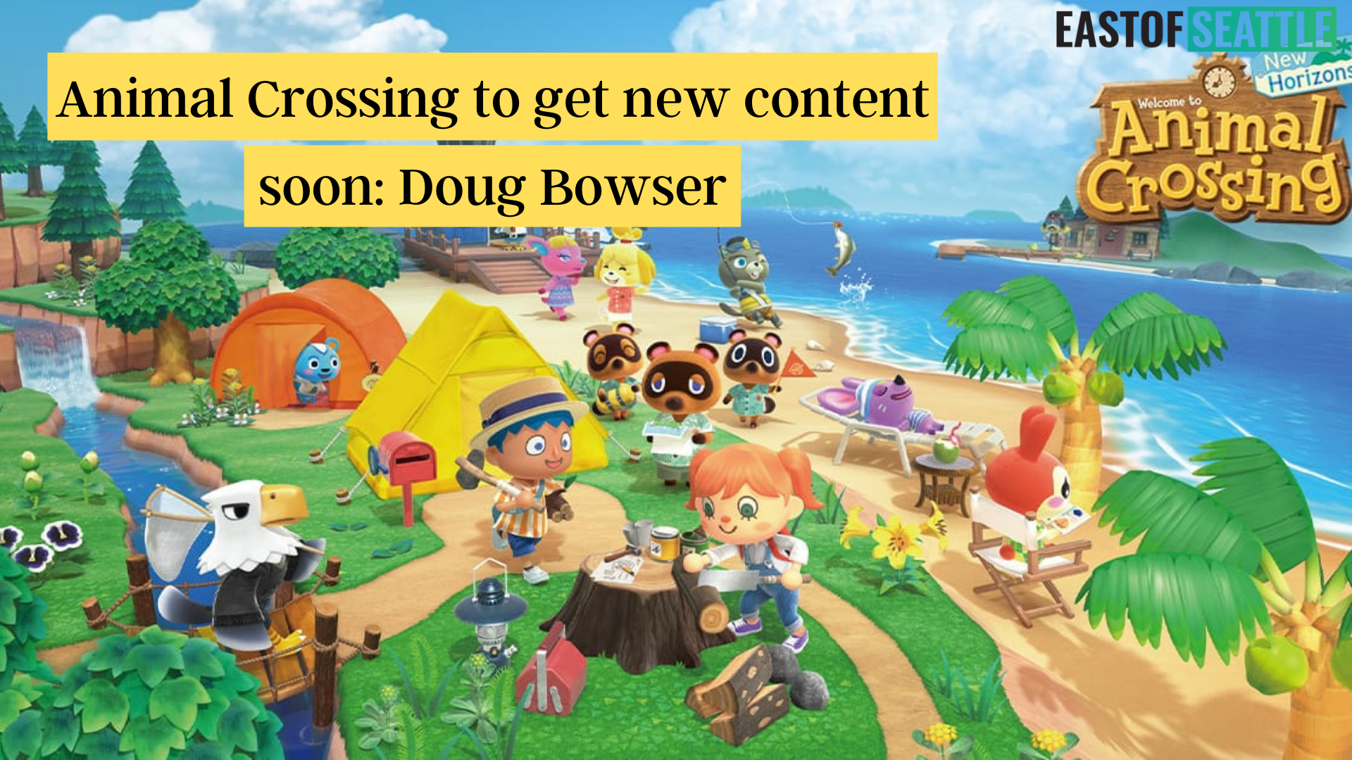 Animal Crossing to get new content soon: Doug Bowser