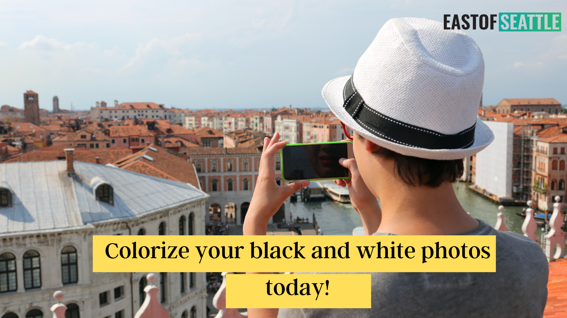 Colorize your black and white photos today!