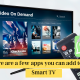 Here are a few apps you can add to your Smart TV