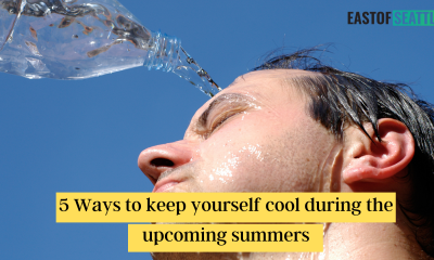 5 Ways to keep yourself cool during the upcoming summers
