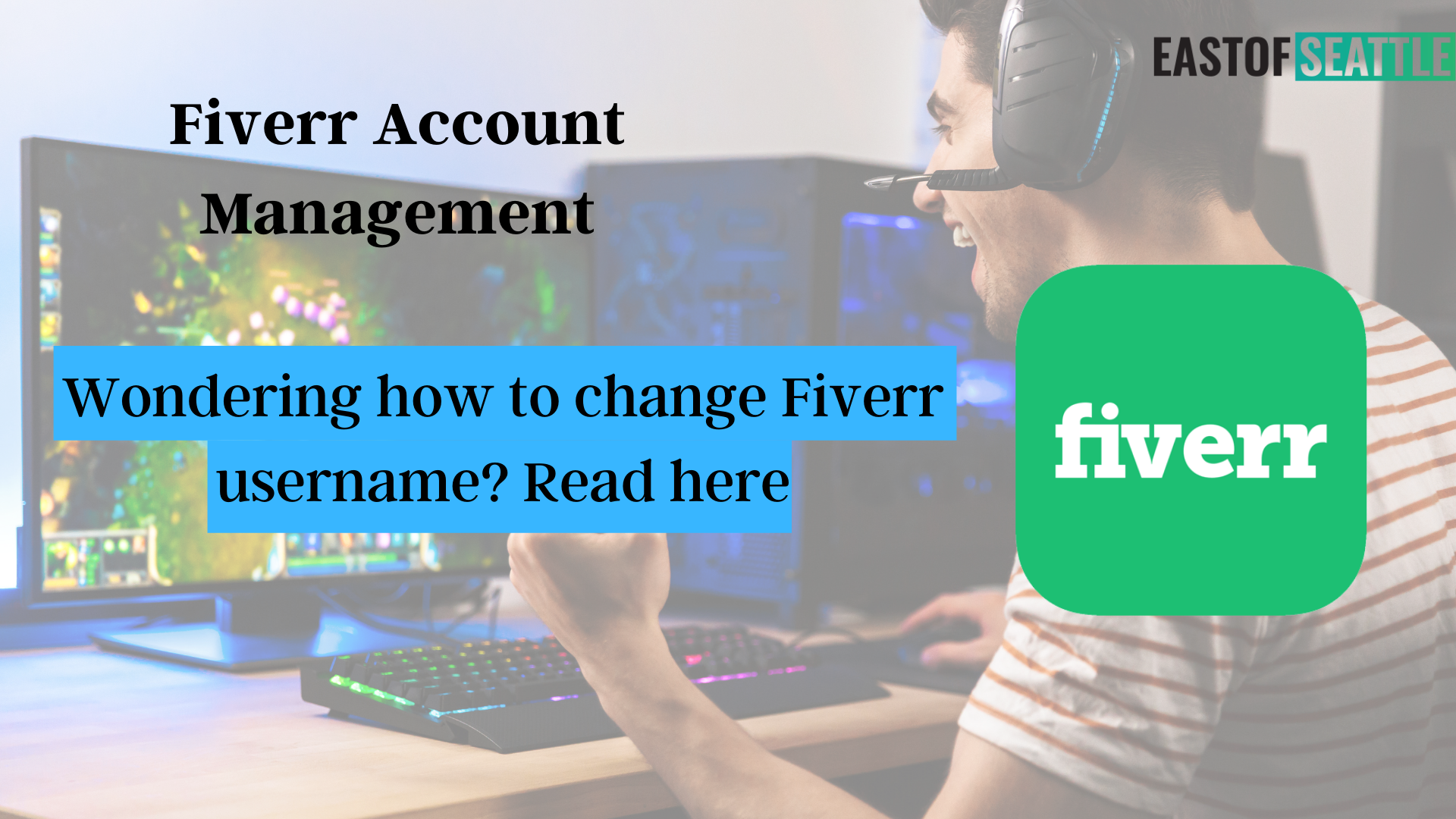 Wondering how to change Fiverr username? Read here