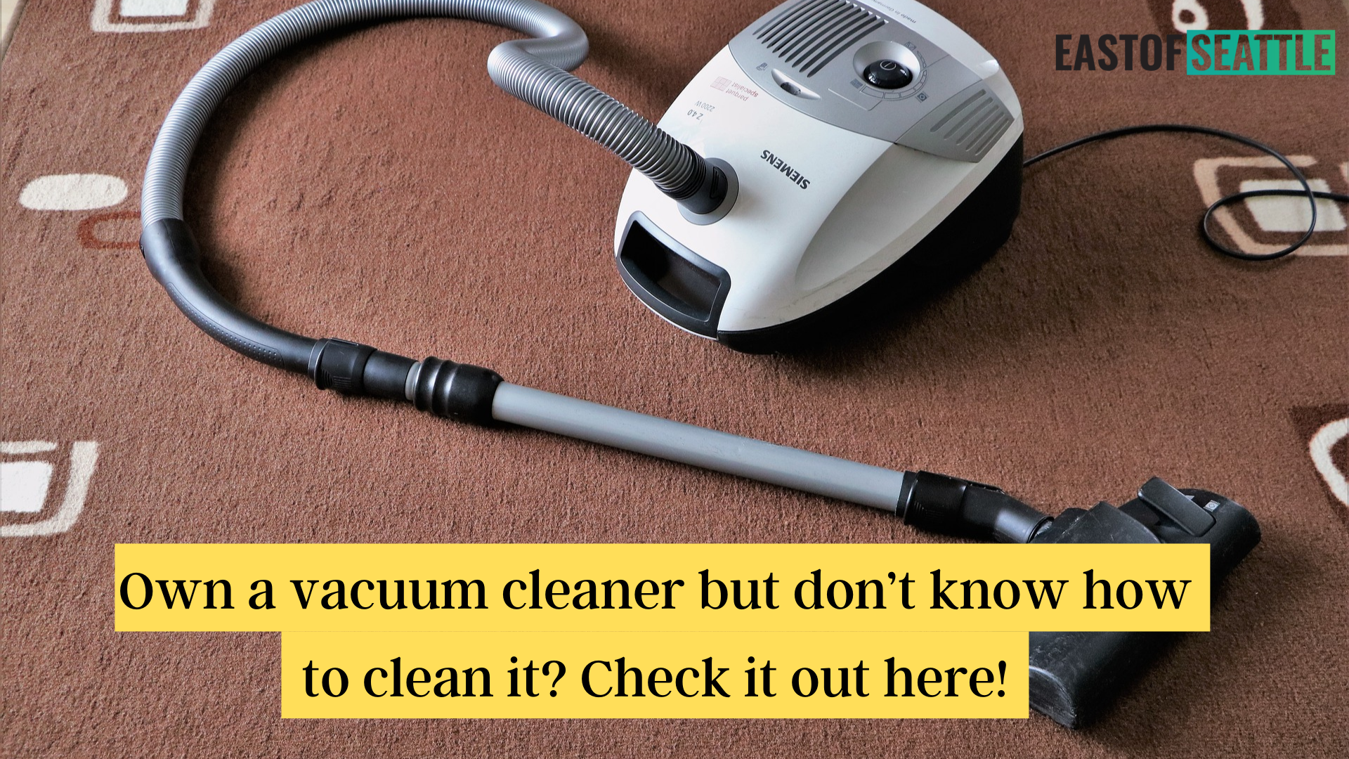 Own a vacuum cleaner but don't know how to clean it Check it out here!