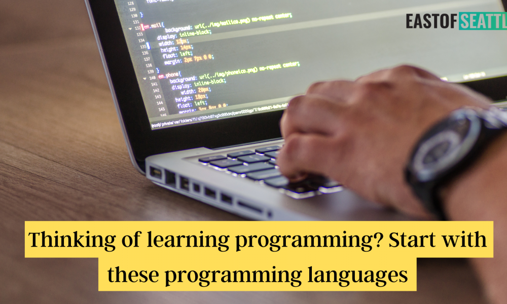 Thinking of learning programming Start with these programming languages